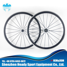 Super light 700c aluminum carbon alloy brake surface 38mm clincher wheelset