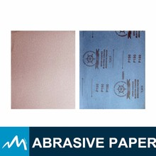 Latex paper backing silicon carbide sandpaper 120 Grit