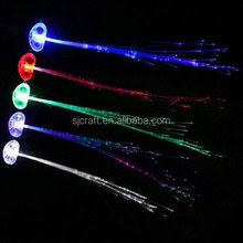 led lighting blinking hair braids for night party/wedding SJ-LHB017