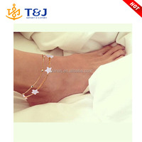 new anklets foot jewelry pulseras heart simple anklets for women girl gift chaine ankle bracelet /
