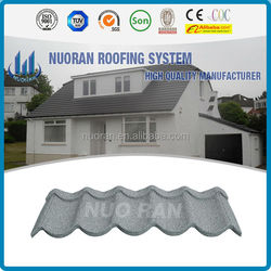high quality sand coated metal roof tile