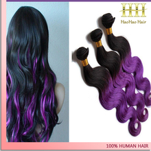 2015 hot selling new design 1b on the top purple on the bottom hair color made in italy