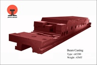 heavy casting parts gray iron machine lathe bed factory passed ISO9001