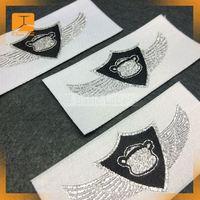 Custom silver personalised clothing label uk