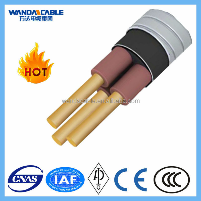Mineral Insulated Metal Sheathed Cable : Copper conductor mineral insulated lead sheath micc cable