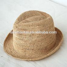Nueva llegada de moda de verano sombreros de paja/europea al por mayor de sombreros de paja