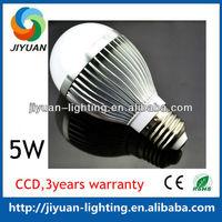 High power high quality cheapest price with Bridgelux leds e27 5W lumenmax led light bulb