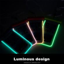 Fluorescence mobile phone waterproof bag