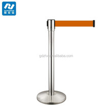 kids safety barrier queue line stand crash barrier post