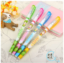 2014 China wholesale candy color plastic ballpoint pen for promotion