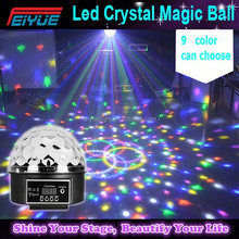 Hot Selling Mini Led Magic Crystal Ball,Stage Light For Ktv,Club,Disco Light Ball