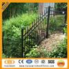 High quality Australia black powder painting decorative iron tubular fence
