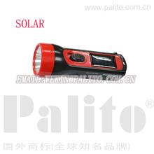 hot sell cheap price led solar flashlight solar power rechargeable led flashlight emergency torch black solar flashlights