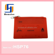 2015 Latest Trendy Bags Silicone Cassette Coin Purse