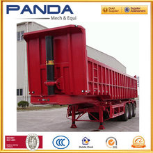 Mining truck dump trailer 50tons for sand transport usd