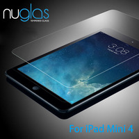 Factory Price Nuglas High Transparent Tempered Glass Screen Protector for iPad Mini 4