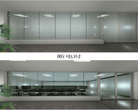 LCD Switchable Privacy Glass for Meeting Room