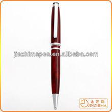Wood grain custom metal pen