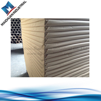550gsm same like Indonisia triplex board paper with white back