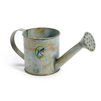 Gray garden decor antique metal watering can wholesale