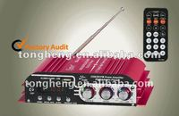 2012new red mixer amplifier with usb/sd MA -500