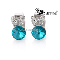 Rhinestone Earrings With Rabbit Style,Fashion Cute Earrings Wholesale Price,Free Shipping Jewelry