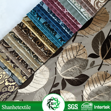 Export to Latin American of tc classic flocked upholstery fabric for restaurant