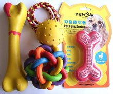 YKD001 hight quality rubber pet toys