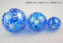 new design wholesale popular glass ornament with light