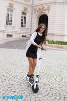 YES foldable and 2 wheel electric standing scooter for sale /e-twow S2