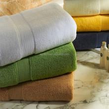 pure color zero twist luxury towel