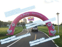 Custom arch inflatable for event /PINK/8M/event inflatable arch
