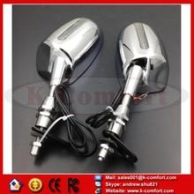 KCM231 Motorcycle for Honda CBR 600 F1 F2 F3 CBR 900 929 954 RR CHROME LED rear view mirror