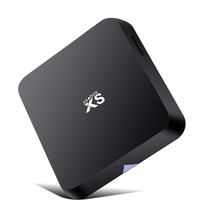 Mx android mini pc smart tv caja 4k*2k cierto reproductor de medios de comunicación, amlogic s802, quad core