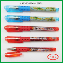 Stationery set rubberized grip min ball pen promoted with books