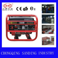 1kw Portable Forced Air Cooling Gasoline Generator(50hz)