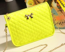 2015 Fashion Small Yellow New Model Leather Shoulder Bag Handbag Wholesale in China Shoulder Bag LF0175