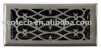 Griglie piano design vittoriano aria diffusore aria griglie ventilazione hvac sistema hvac - Griglie di aerazione design ...