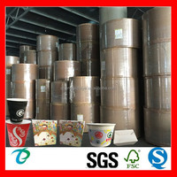 waterproof pe coated paper cardboard for coffee cup sleeve