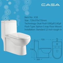 Sanitary ware siphonic one-piece electric colorful ceramic toilet bowl ceramic siphonic one piece cheap toilets