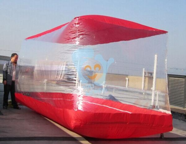 vente chaude en plastique transparent pvc de voiture pliant couverture gonflable garage housse d. Black Bedroom Furniture Sets. Home Design Ideas