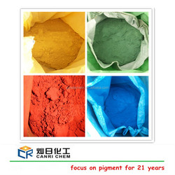 red color bitumen/yellow oxide color asphalt /oxyde de fer