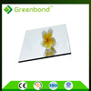 Greenbond high density interior wall material aluminium composite panels