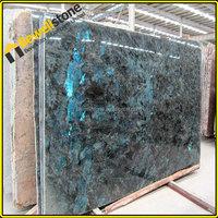 Prefab slab labradorite, beautiful granite labradorite blue slab
