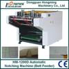 HM-1200D Automatic V-shape Notching Machine (Belt Feeder)