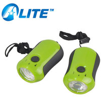 Wholesales Coloful Hand Crank Generator Flashlight