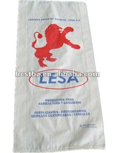 pp woven bag/sack with lateral bending for flour/feed/rice/cereal/grain exported to Spain,made in China
