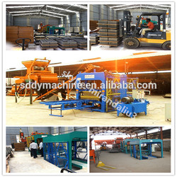 Professional used block machine construction
