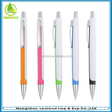 Hot selling custom ballpoint pen plastic for promotion
