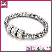personalized wire bangle bracelet crystal jewelry